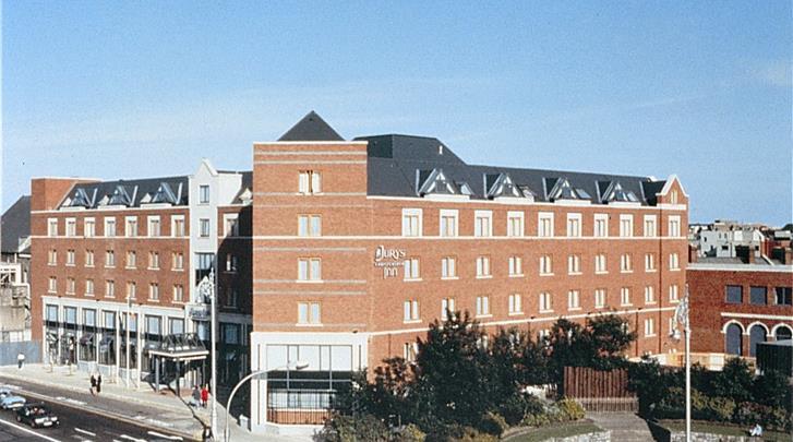 Dublin, Hotel Jurys Inn Christchurch, Façade hotel
