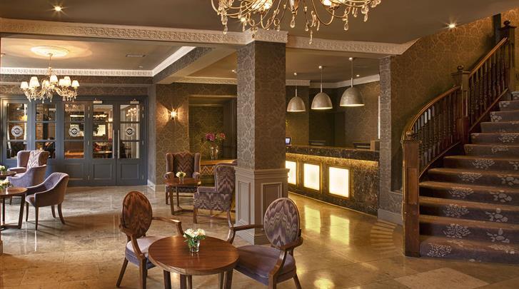 Dublin, Hotel The Address Connolly, Receptie