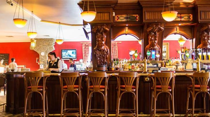 Dublin, Hotel Sheldon Park, Hotel bar