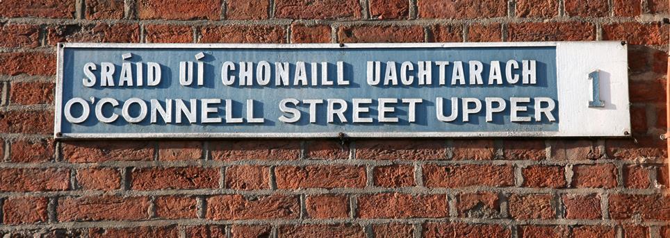 Dublin, Winkelstraat Dublin