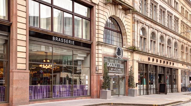 Edinburgh, Hotel Doubletree by Hilton Edinburgh City Centre (vh. Point)