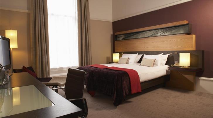 Edinburgh, Hotel Edinburgh Grosvenor, Deluxe kamer