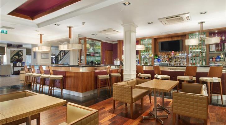Edinburgh, Hotel Edinburgh Grosvenor, Hotel bar