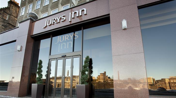Edinburgh, Hotel Jurys Inn Edinburgh, Façade hotel