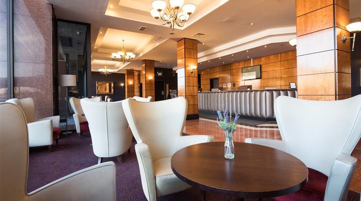 Edinburgh, Hotel Jurys Inn Edinburgh, Lobby
