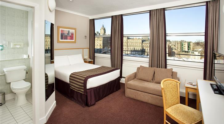 Edinburgh, Hotel Jurys Inn Edinburgh, Standaard kamer