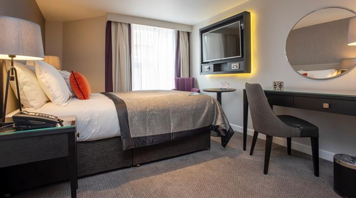Edinburgh, Hotel Ten Hill Place, Standaard kamer