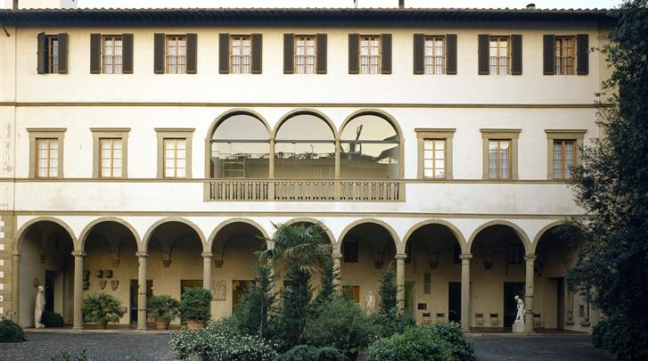 Florence, Appartement Palazzo Ricasoli Residence, Façade hotel