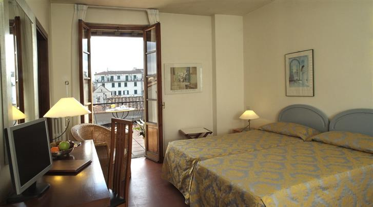 Florence, Appartement Palazzo Ricasoli Residence, Kamer
