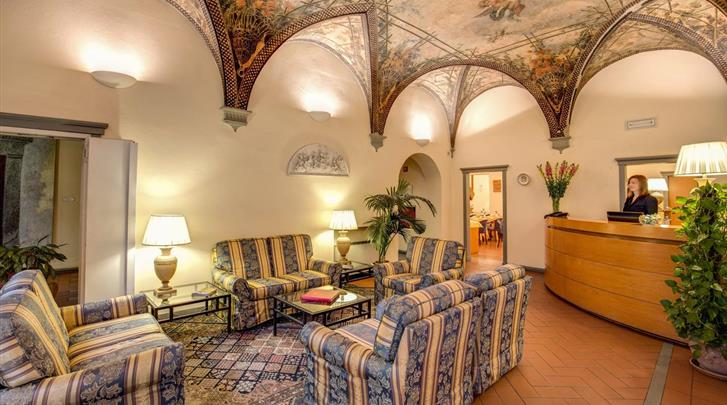 Florence, Hotel Botticelli, Receptie