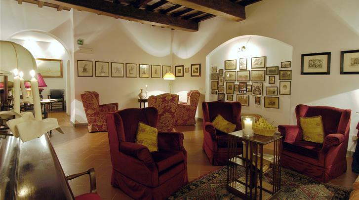 Florence, Hotel Cellai, Lobby