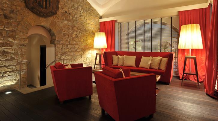Florence, Hotel Degli Orafi, Lobby