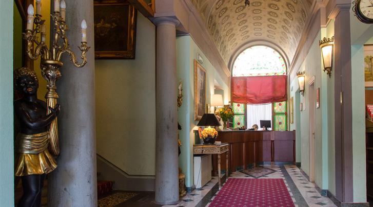 Florence, Hotel Donatello Firenze, Receptie