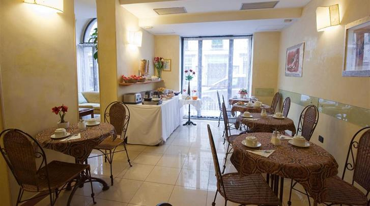 Florence, Hotel Galileo Florence, Ontbijtruimte