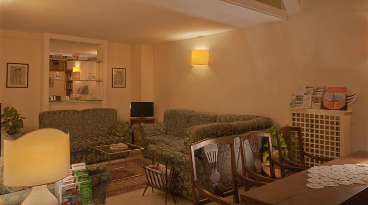 Florence, Hotel Gioia, Lobby