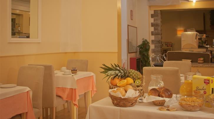 Florence, Hotel Gioia, Restaurant