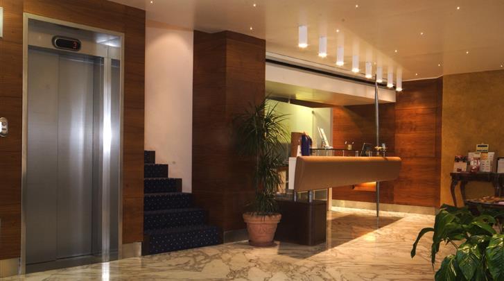 Florence, Hotel Kraft, Lobby