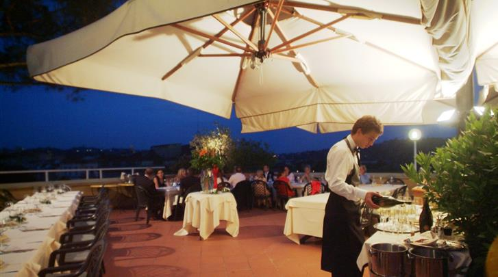 Florence, Hotel Kraft, Restaurant