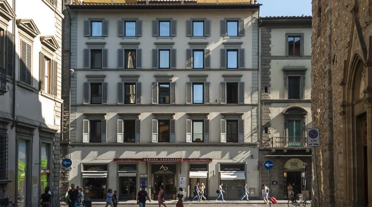 Florence, Hotel Laurus al Duomo, Façade hotel