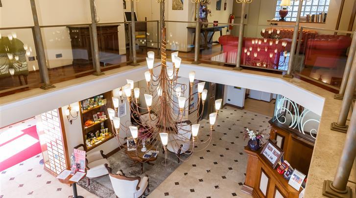 Florence, Hotel Laurus al Duomo, Lobby