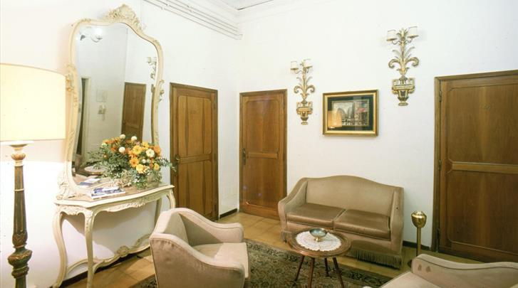 Florence, Hotel Medici, Lounge