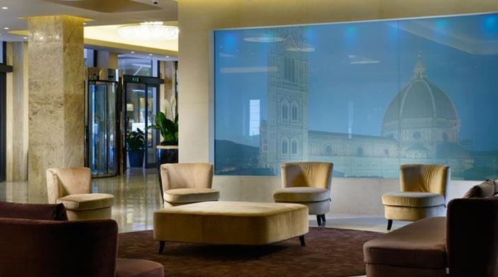 Florence, Hotel Mediterraneo, Lobby
