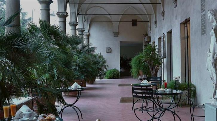 Florence, Hotel Palazzo Ricasoli, Terras