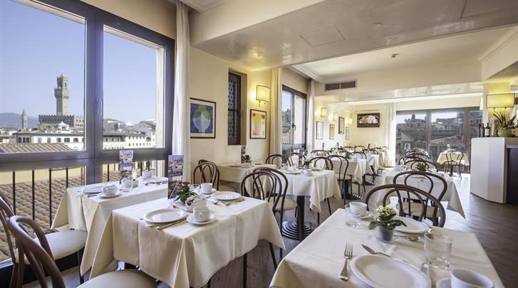 Florence, Hotel Pitti Palace al Ponte Vecchio, Restaurant