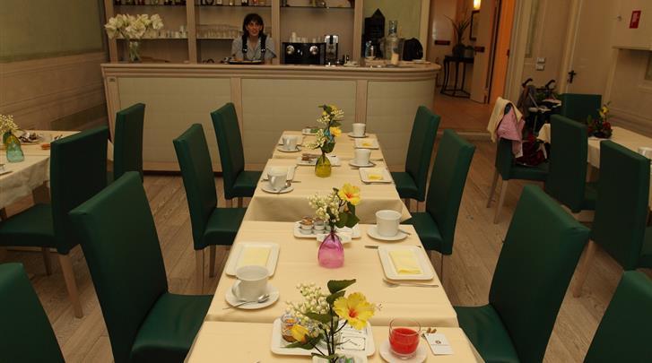 Florence, Hotel Residenza Fiorentina, Ontbijtruimte