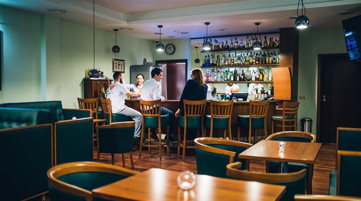 Gdansk, Hotel Admiral, Hotel bar