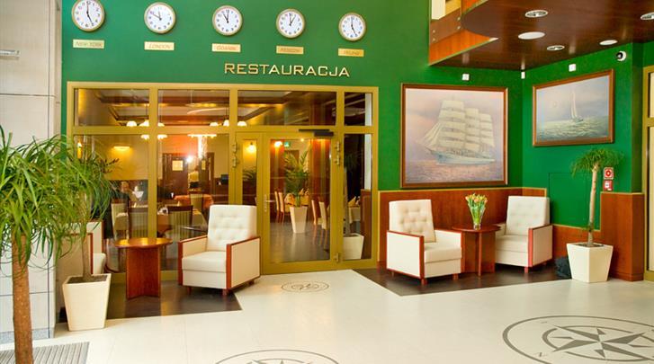 Gdansk, Hotel Admiral, Lobby