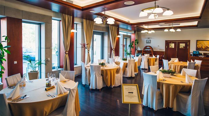 Gdansk, Hotel Admiral, Restaurant