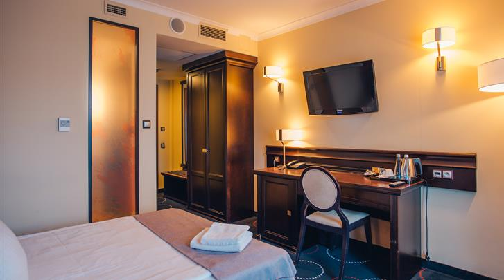 Gdansk, Hotel Admiral, Standaard kamer