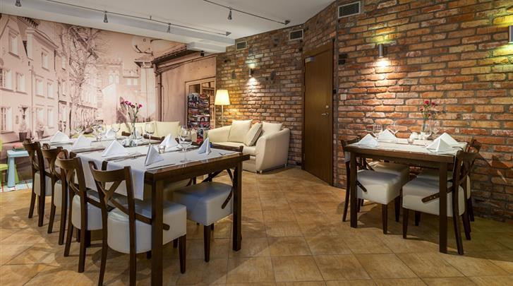 Gdansk, Hotel Bonum, Restaurant