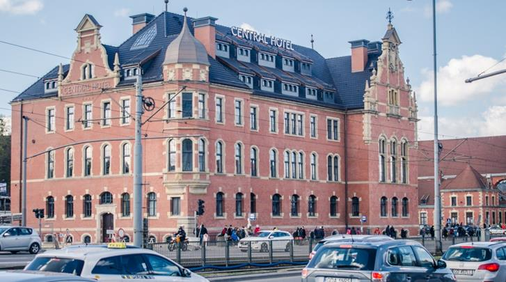 Gdansk, Hotel Central Gdansk, Façade hotel
