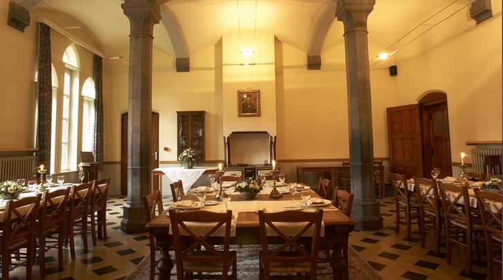 Gent, Hotel Monasterium Poortackere, Ontbijtruimte