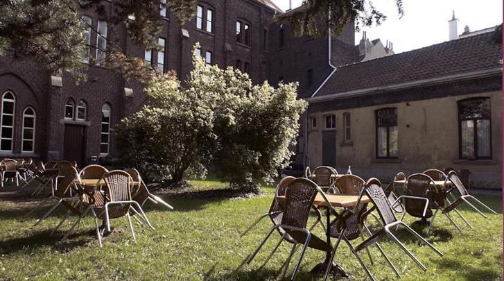 Gent, Hotel Monasterium Poortackere, Tuin