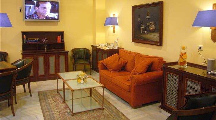 Granada, Hotel Comfort Dauro 2, Lounge