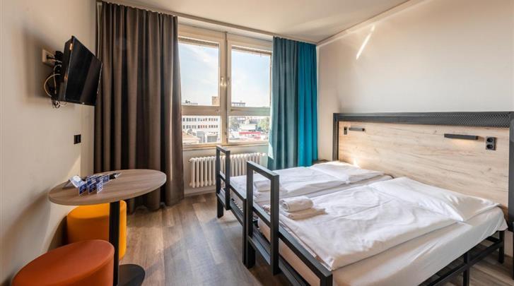 Hamburg, Hotel A&O Hamburg City, Standaard kamer