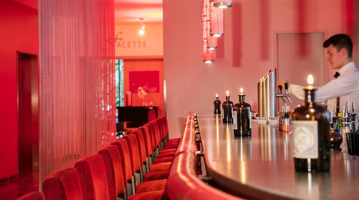 Hamburg, Hotel Arcotel Rubin, Hotelbar