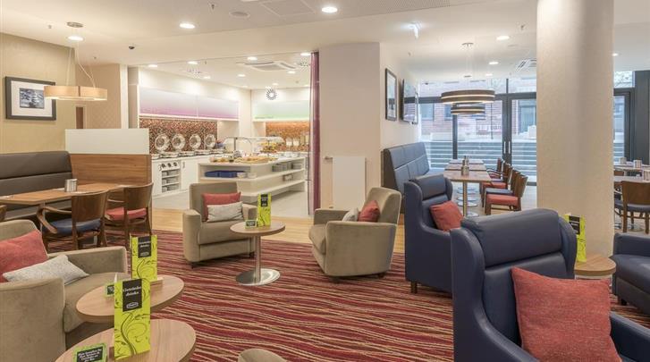 Hamburg, Hotel Hampton by Hilton Hamburg City Centre, Lobby