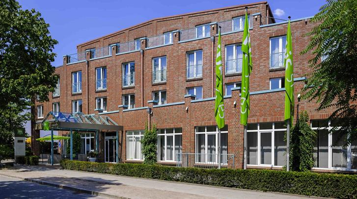 Hamburg, Hotel Ibis Styles Hamburg Alster City, Façade hotel