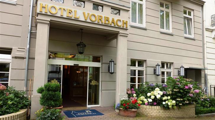 Hotel vorbach in hamburg for Nl hotel hamburg