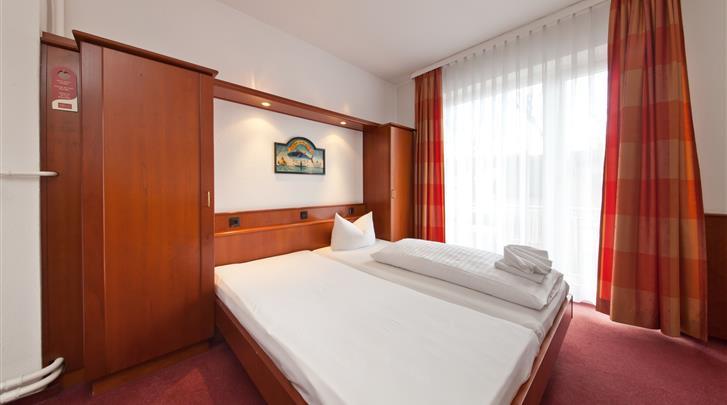 Hamburg, Novum Hotel Hagemann, Standaard kamer
