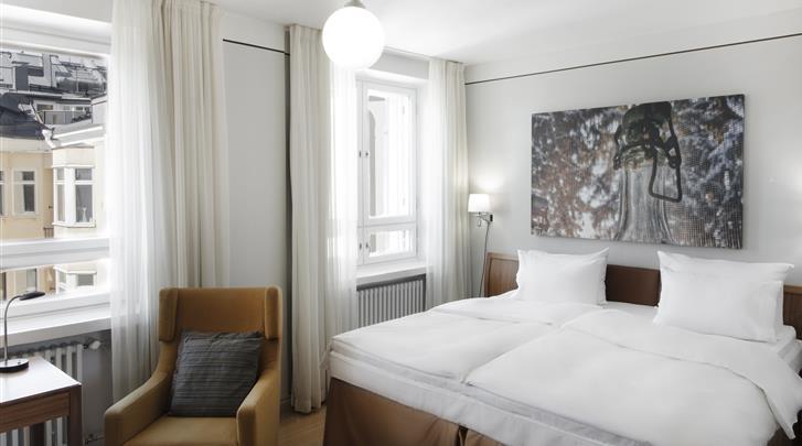 Helsinki, Hotel Radisson Blu Aleksanteri, Standaard kamer