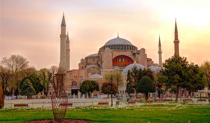 Istanbul, Aya Sofia