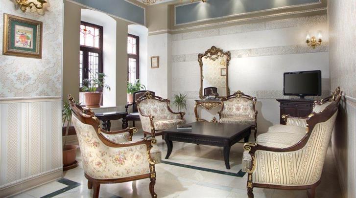 Istanbul, Hotel Amber, Lounge