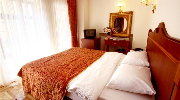 Istanbul, Hotel Amber, Standaard kamer