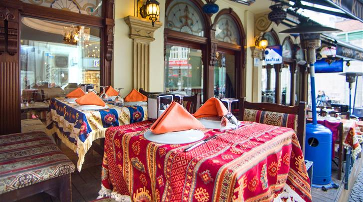 Istanbul, Hotel Best Western Empire Palace, Bar/restaurant