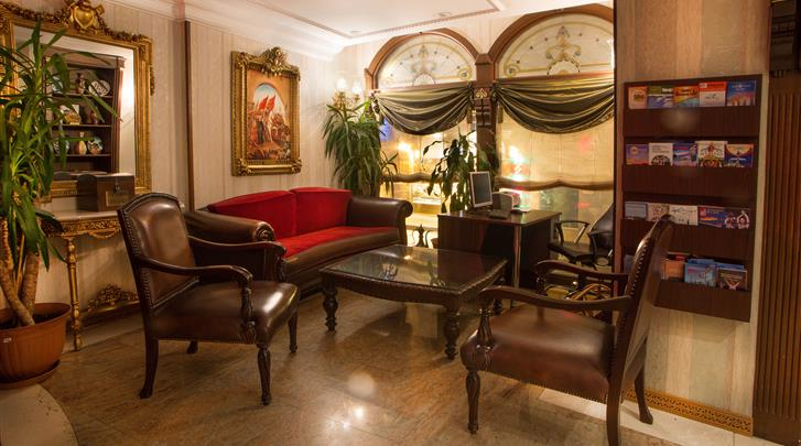 Istanbul, Hotel Best Western Empire Palace, Lobby